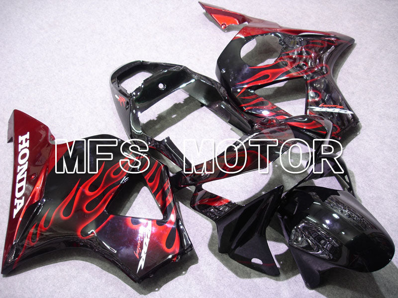 Injection ABS Fairing For Honda CBR900RR 954 2002-2003 - Flame - Black Red - MFS3225 - shopping and wholesale