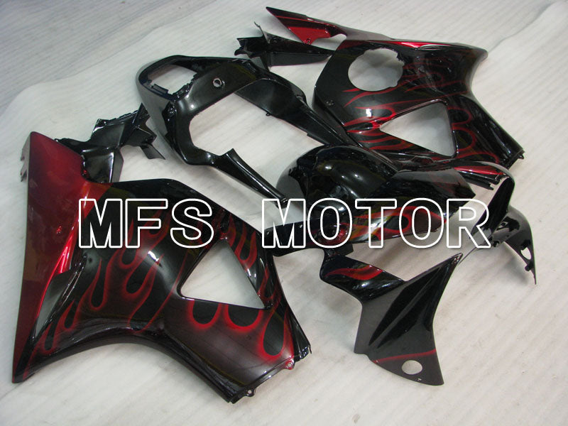 Injection ABS Fairing For Honda CBR900RR 954 2002-2003 - Flame - Black Red - MFS3226 - shopping and wholesale