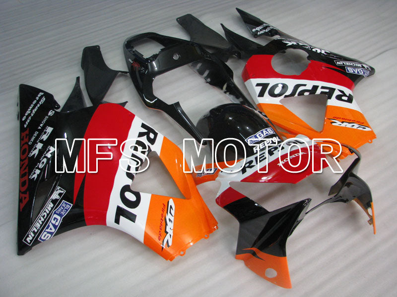 Injection ABS Fairing For Honda CBR900RR 954 2002-2003 - Repsol - Black Orange Red - MFS3230 - shopping and wholesale