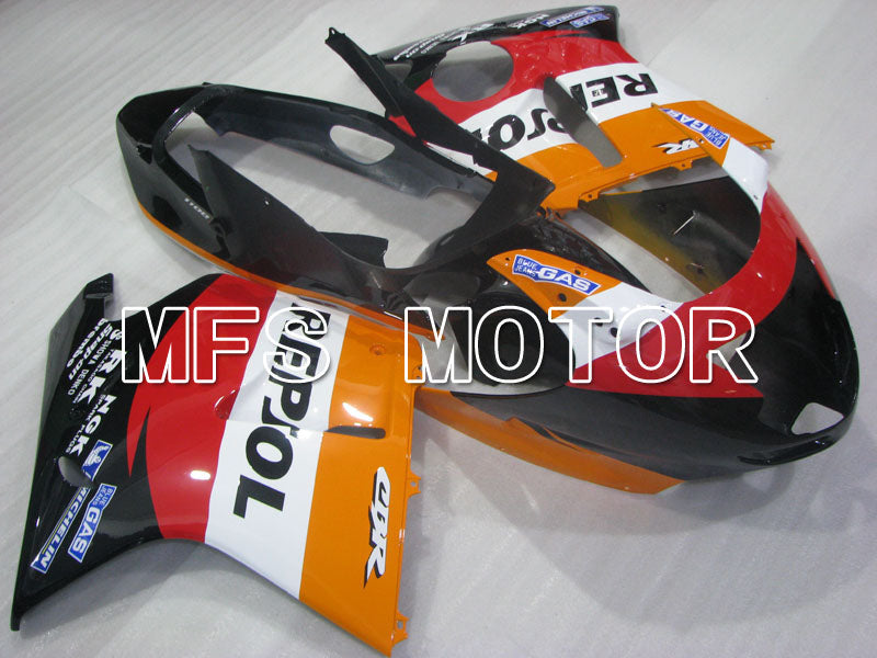 Injection ABS Fairing For Honda CBR1100XX 1996-2007 - Repsol - Svart Orange Rød - MFS3243 - Shopping og engros