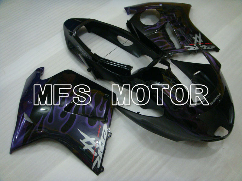 Injection ABS Fairing For Honda CBR1100XX 1996-2007 - Flame - Black Purple - MFS3246 - shopping and wholesale