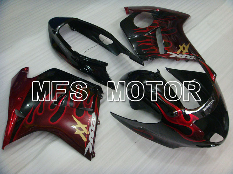 Injection ABS Fairing For Honda CBR1100XX 1996-2007 - Flame - Black Red - MFS3247 - shopping and wholesale