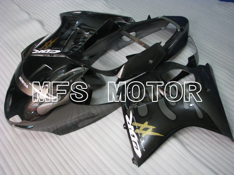 Injection ABS Fairing For Honda CBR1100XX 1996-2007 - Flame - Black Gray - MFS3248 - shopping and wholesale