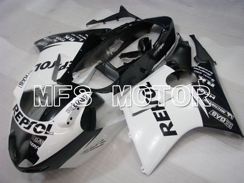 Injection ABS Fairing For Honda CBR1100XX 1996-2007 - Repsol - Svart Hvit - MFS3258 - Shopping og engros