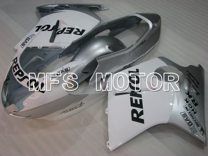 Injection ABS Fairing For Honda CBR1100XX 1996-2007 - Repsol - White Silver - MFS3259 - shopping and wholesale