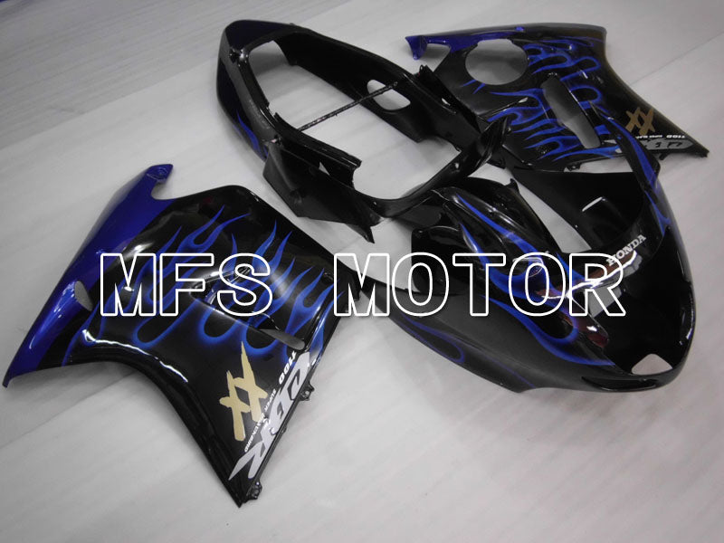 Injection ABS Fairing For Honda CBR1100XX 1996-2007 - Flamme - Svart Blå - MFS3261 - Shopping og engros