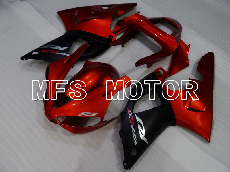 Injection ABS Fairing For Yamaha YZF-R1 2000-2001 - Factory Style - Black Red - MFS3265 - shopping and wholesale