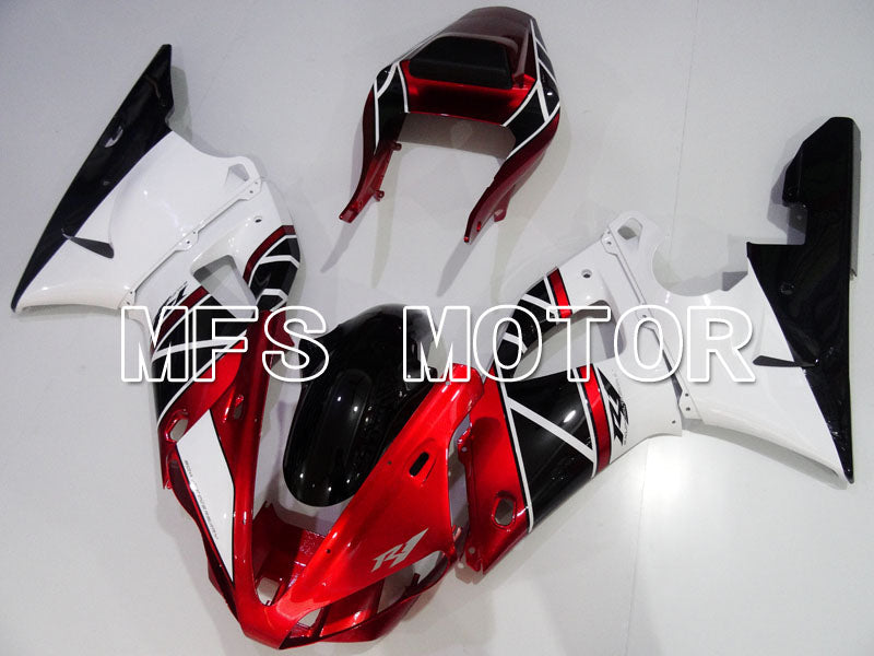 Injection ABS Fairing For Yamaha YZF-R1 2000-2001 - Factory Style - Black Red White - MFS3282 - shopping and wholesale
