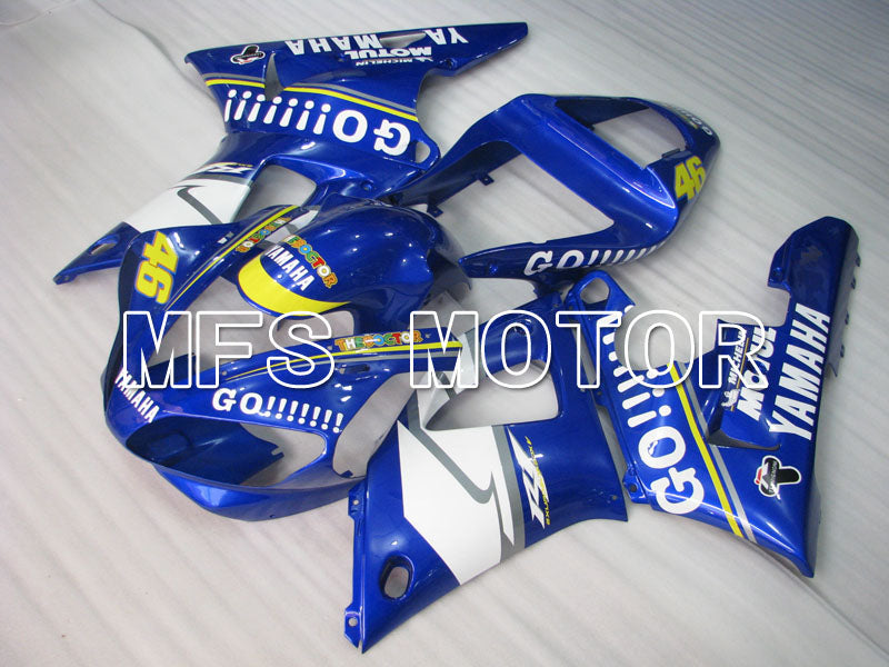 Injection ABS Fairing For Yamaha YZF-R1 2000-2001 - GO!!!!!!! - Blue - MFS3284 - shopping and wholesale