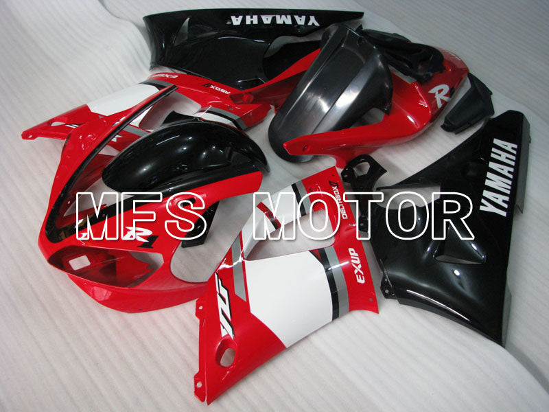 Injection ABS Fairing til Yamaha YZF-R1 2000-2001 - Fabriksstil - Sort Rød Hvid - MFS3285 - Shopping og engros