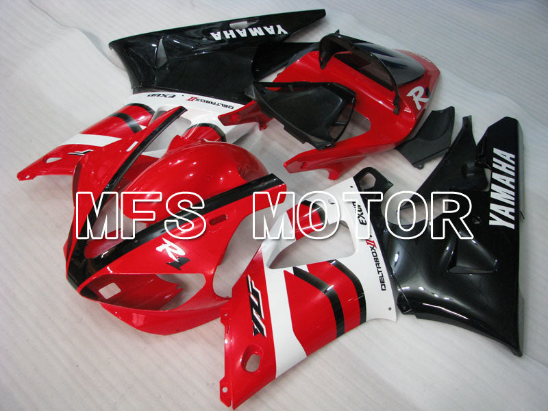 Injection ABS Fairing til Yamaha YZF-R1 2000-2001 - Fabriksstil - Sort Rød Hvid - MFS3286 - Shopping og engros