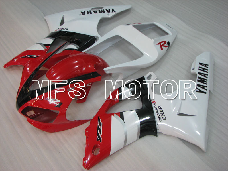 Injection ABS Fairing For Yamaha YZF-R1 2000-2001 - Fabriksstil - Rød Hvid - MFS3287 - Shopping og engros