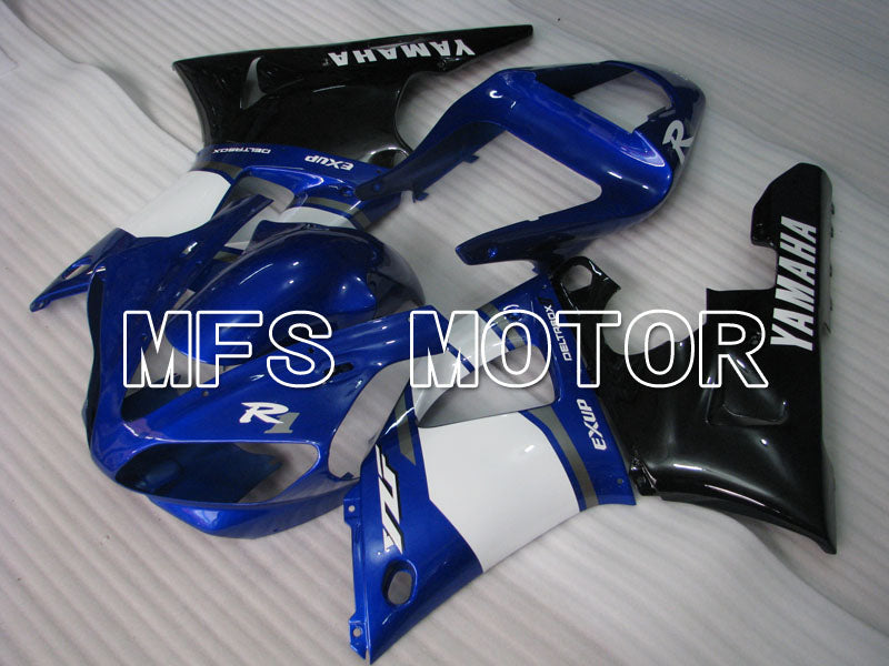 Injection ABS Fairing til Yamaha YZF-R1 2000-2001 - Fabriksstil - Blå Sort - MFS3288 - Shopping og engros