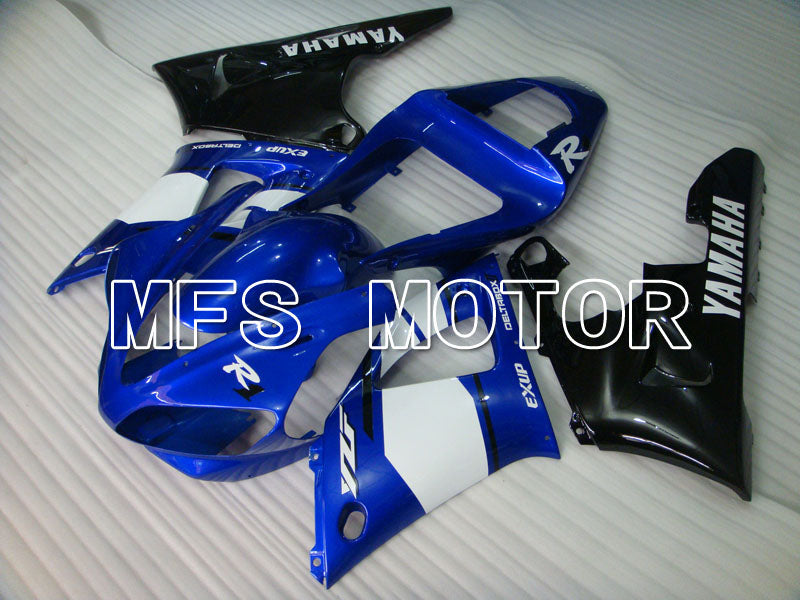 Injection ABS Fairing til Yamaha YZF-R1 2000-2001 - Fabriksstil - Blå Sort - MFS3289 - Shopping og engros