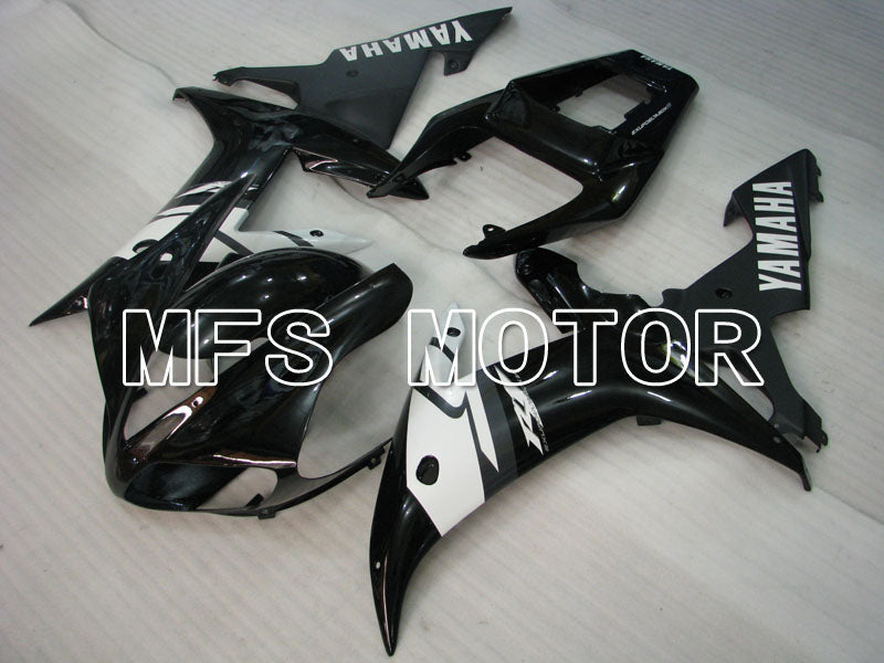 Injection ABS Fairing For Yamaha YZF-R1 2002-2003 - Factory Style - Black White - MFS3315 - shopping and wholesale