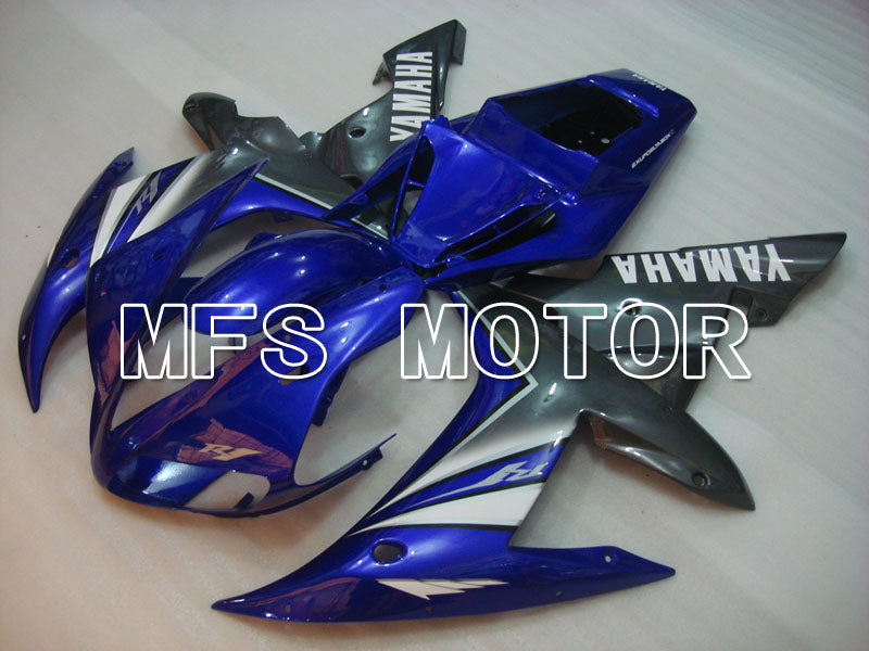 Injection ABS Fairing For Yamaha YZF-R1 2002-2003 - Fabriksstil - Blå Sølv - MFS3319 - Shopping og engros