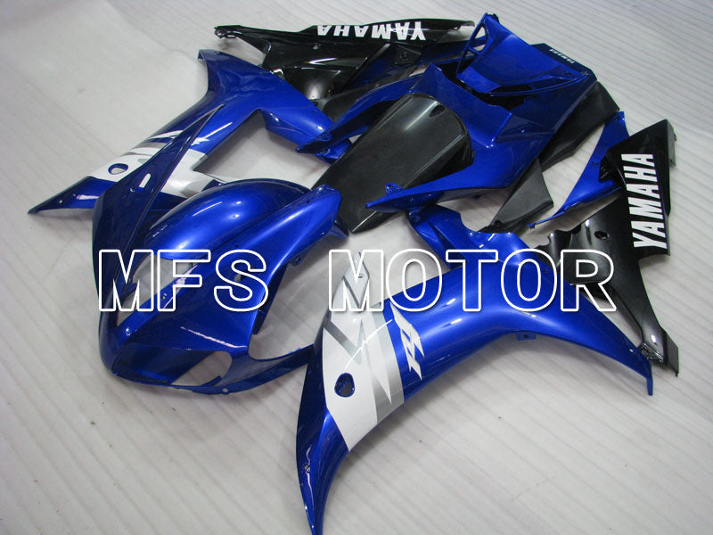 Injection ABS Fairing til Yamaha YZF-R1 2002-2003 - Fabriksstil - Blå Sort - MFS3332 - Shopping og engros