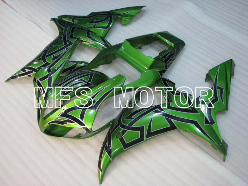 Injection ABS Fairing til Yamaha YZF-R1 2002-2003 - Andre - Sort Grøn - MFS3337 - Shopping og engros