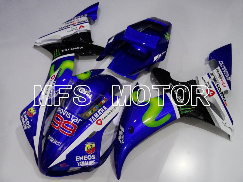 Injection ABS Fairing For Yamaha YZF-R1 2002-2003 - Movistar - Blå - MFS3348 - Shopping og engros