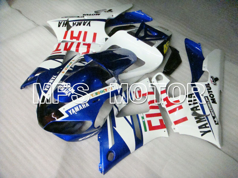 Injection ABS Fairing For Yamaha YZF-R1 1998-1999 - FIAT - Blue White - MFS3356 - shopping and wholesale