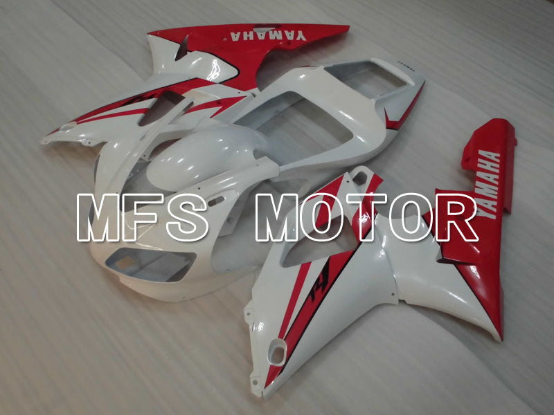Injection ABS Fairing For Yamaha YZF-R1 1998-1999 - Fabriksstil - Rød Hvid - MFS3392 - Shopping og engros