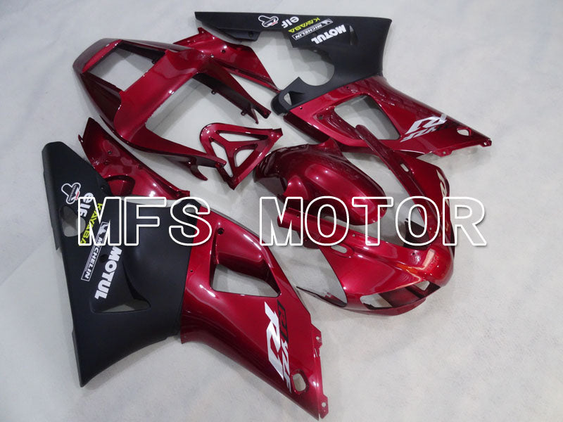 Injection ABS Fairing For Yamaha YZF-R1 1998-1999 - Factory Style - Black Red Wine Color - MFS3394 - shopping and wholesale