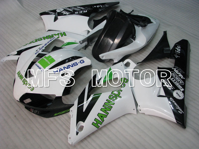 Injection ABS Fairing For Yamaha YZF-R1 1998-1999 - HANN Spree - Sort Hvid - MFS3397 - Shopping og engros