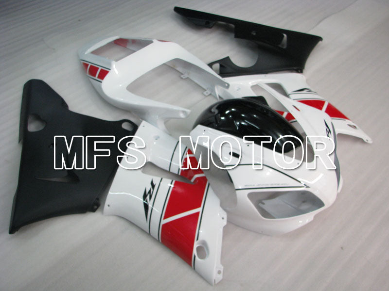 Injection ABS Fairing For Yamaha YZF-R1 1998-1999 - Fabriksstil - Sort Hvid - MFS3401 - Shopping og engros