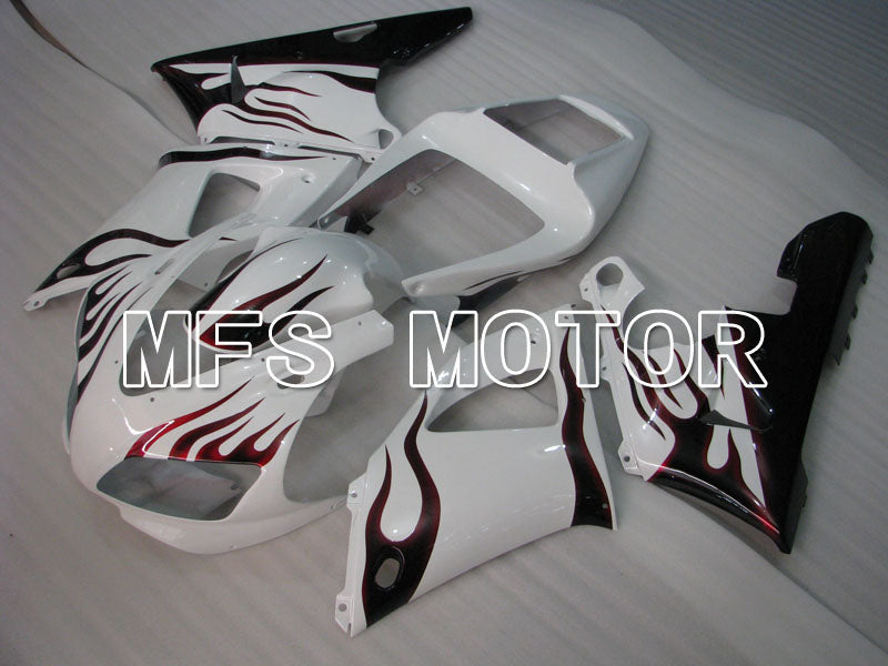 Injection ABS Fairing For Yamaha YZF-R1 1998-1999 - Flamme - Sort Hvid - MFS3403 - Shopping og engros