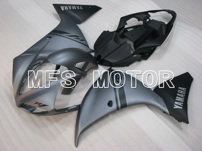 Injection ABS Fairing For Yamaha YZF-R1 2009-2011 - Fabriksstil - Sort Grå Matte - MFS3411 - Shopping og engros