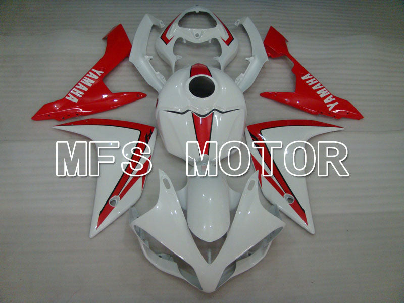 Injection ABS Fairing For Yamaha YZF-R1 2007-2008 - Fabriksstil - Hvid Rød - MFS3448 - Shopping og engros
