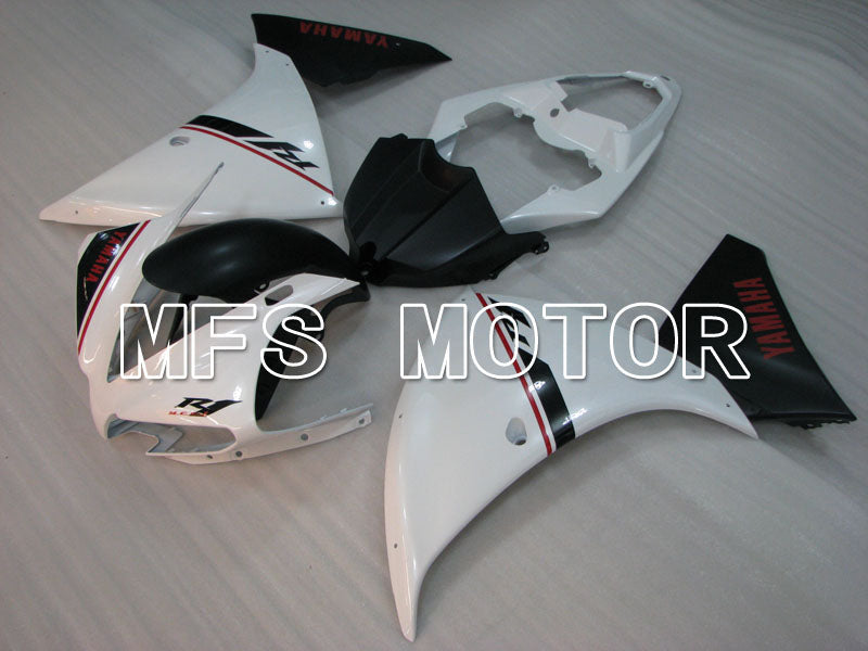 Injection ABS Fairing For Yamaha YZF-R1 2012-2014 - Factory Style - Black White - MFS3466 - shopping and wholesale