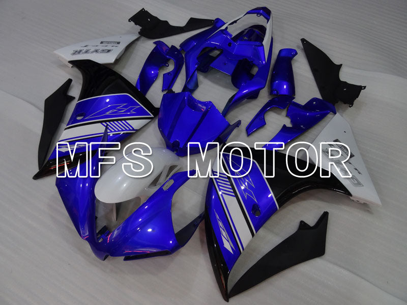 Injection ABS Fairing For Yamaha YZF-R1 2012-2014 - Factory Style - Black Blue - MFS3470 - shopping and wholesale