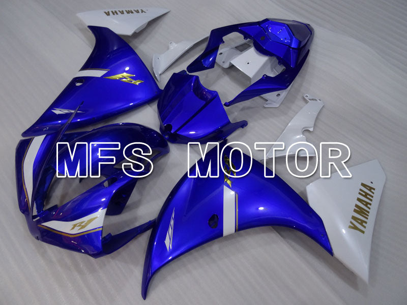 Injection ABS Fairing For Yamaha YZF-R1 2012-2014 - Factory Style - White Blue - MFS3473 - shopping and wholesale