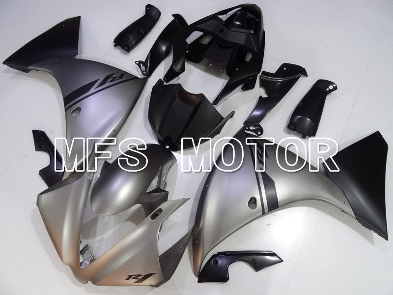 Injection ABS Fairing For Yamaha YZF-R1 2012-2014 - Fabriksstil - Sølvmatte - MFS3474 - Shopping og engros