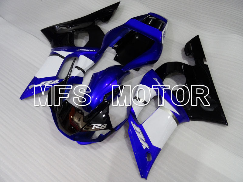 Injection ABS Fairing For Yamaha YZF-R6 1998-2002 - Factory Style - Blue White - MFS3581 - shopping and wholesale