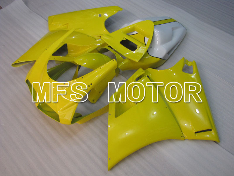 Injection ABS Fairing For Ducati 748 / 998 / 996 1994-2002 - Factory Style - Yellow White - MFS3889 - shopping and wholesale