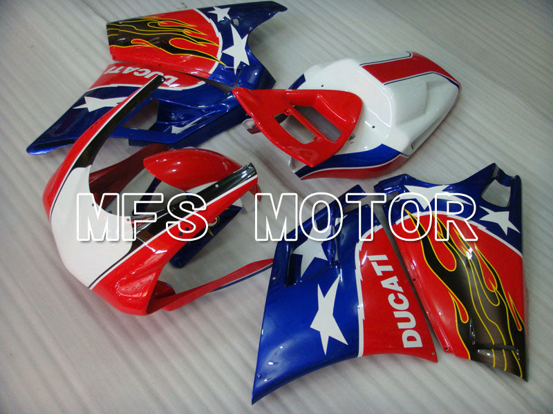 Injection ABS Fairing For Ducati 748 / 998 / 996 1994-2002 - Andre - Blå Rød - MFS3905 - Shopping og engros