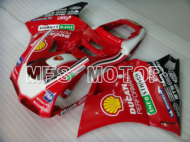 Injection ABS Fairing For Ducati 748 / 998 / 996 1994-2002 - Ytelse - Rød - MFS3911 - Shopping og engros