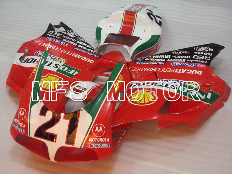 Injection ABS Fairing For Ducati 748 / 998 / 996 1994-2002 - INFO STRADA - Rød - MFS3915 - Shopping og engros