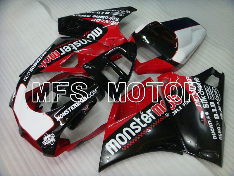Injection ABS Fairing For Ducati 748 / 998 / 996 1994-2002 - Monstermob - Svart Rødvin Farge - MFS3920 - Shopping og engros