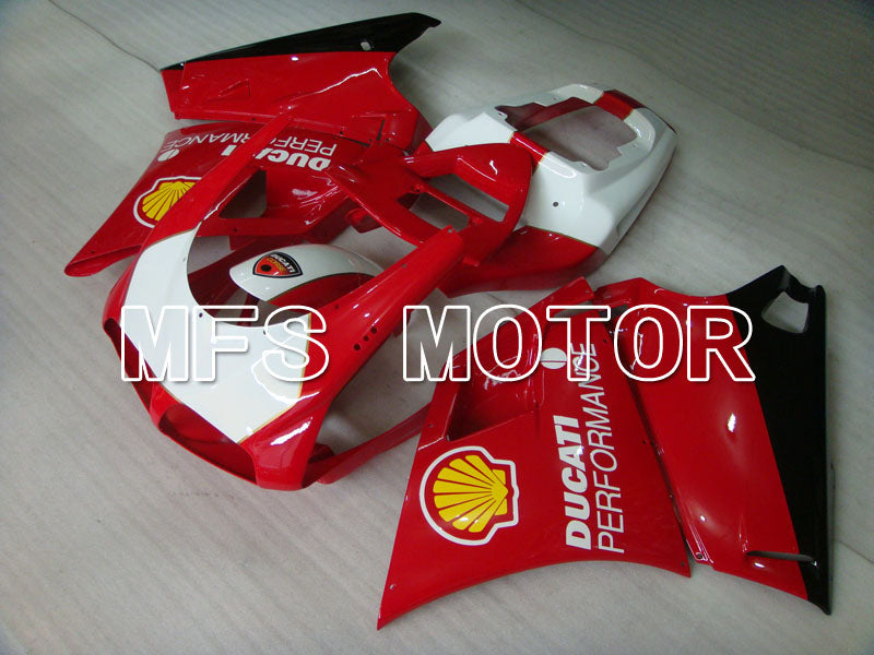 Injection ABS Fairing For Ducati 748 / 998 / 996 1994-2002 - Ytelse - Rødt Hvitt - MFS3928 - Shopping og engros