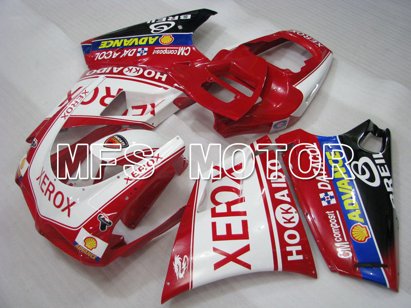 Injection ABS Fairing For Ducati 748 / 998 / 996 1994-2002 - Xerox - Rødhvitt - MFS3939 - shopping og engros