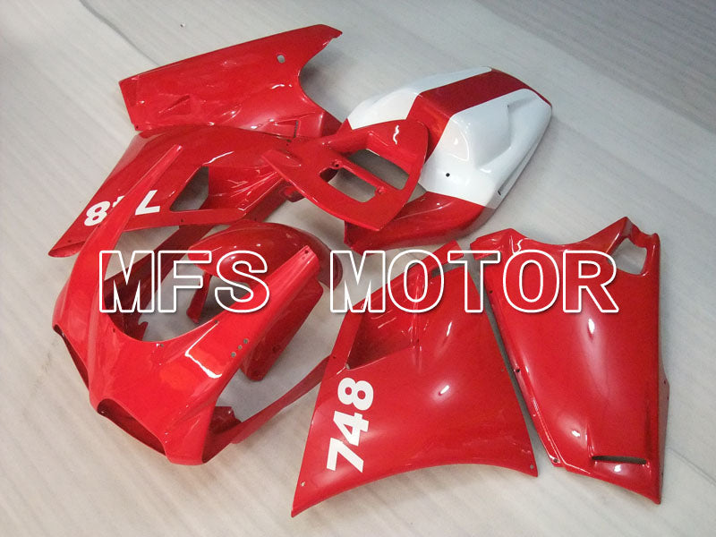 Injection ABS Fairing For Ducati 748 / 998 / 996 1994-2002 - Factory Style - Red White - MFS3949 - shopping and wholesale