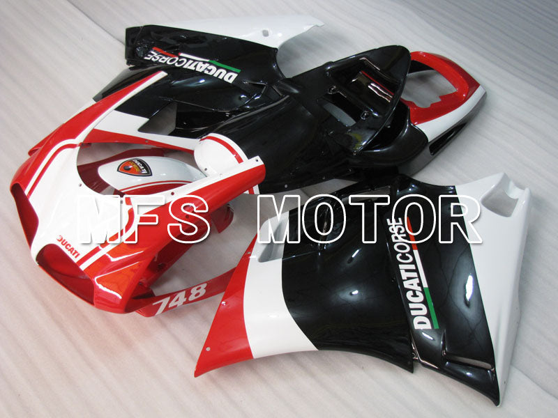 Injection ABS Fairing For Ducati 748 / 998 / 996 1994-2002 - Fabrikkstil - Svart Rød - MFS3953 - Shopping og engros