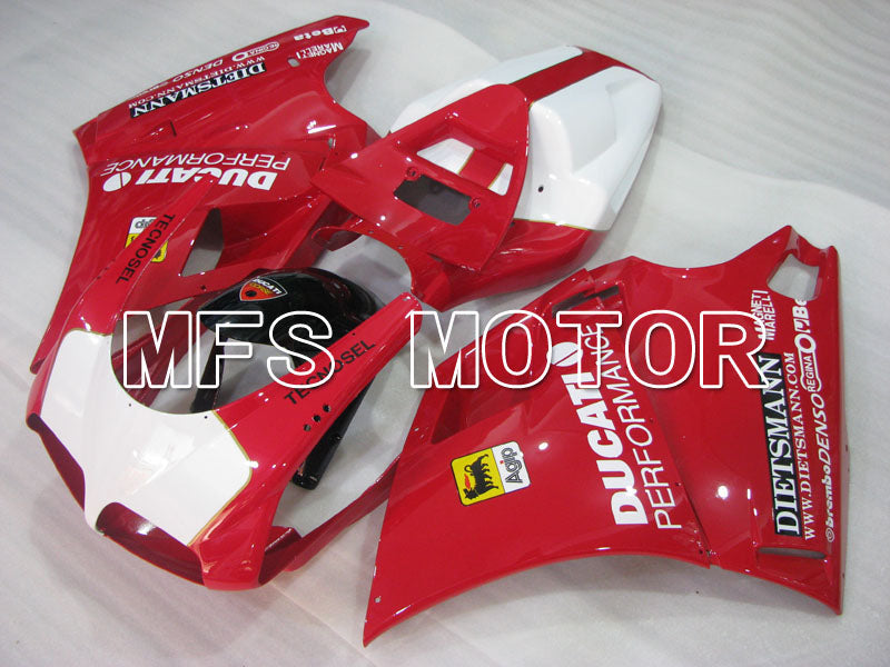 Injection ABS Fairing For Ducati 748 / 998 / 996 1994-2002 - Ytelse - Rødt Hvitt - MFS3956 - Shopping og engros