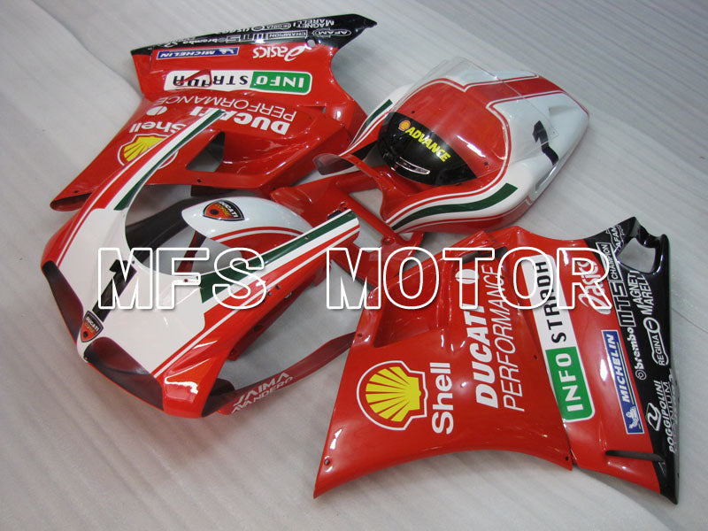 Injection ABS Fairing For Ducati 748 / 998 / 996 1994-2002 - Ytelse - Rødt Hvitt - MFS3977 - Shopping og engros