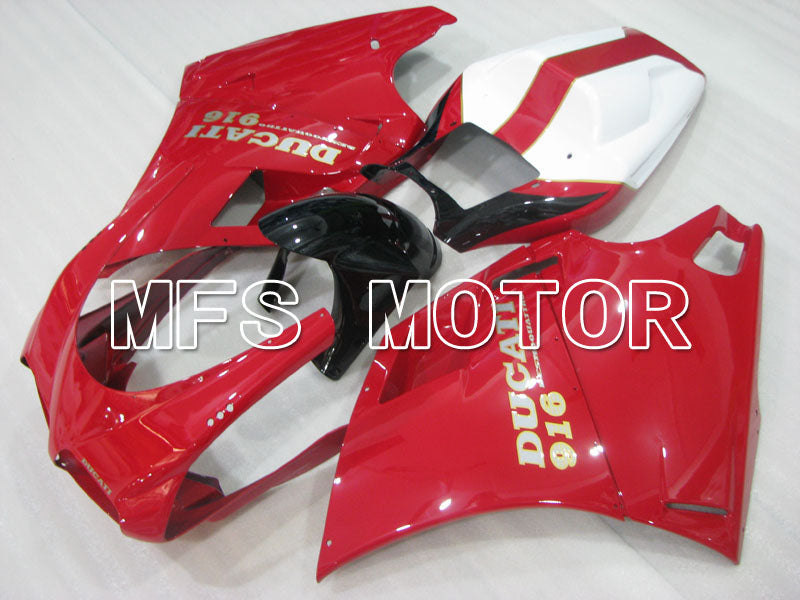 Injection ABS Fairing For Ducati 916 1994-1998 - Factory Style - Red - MFS3983 - shopping and wholesale