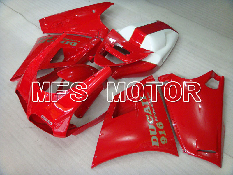 Injection ABS Fairing For Ducati 916 1994-1998 - Factory Style - Red - MFS3986 - shopping and wholesale