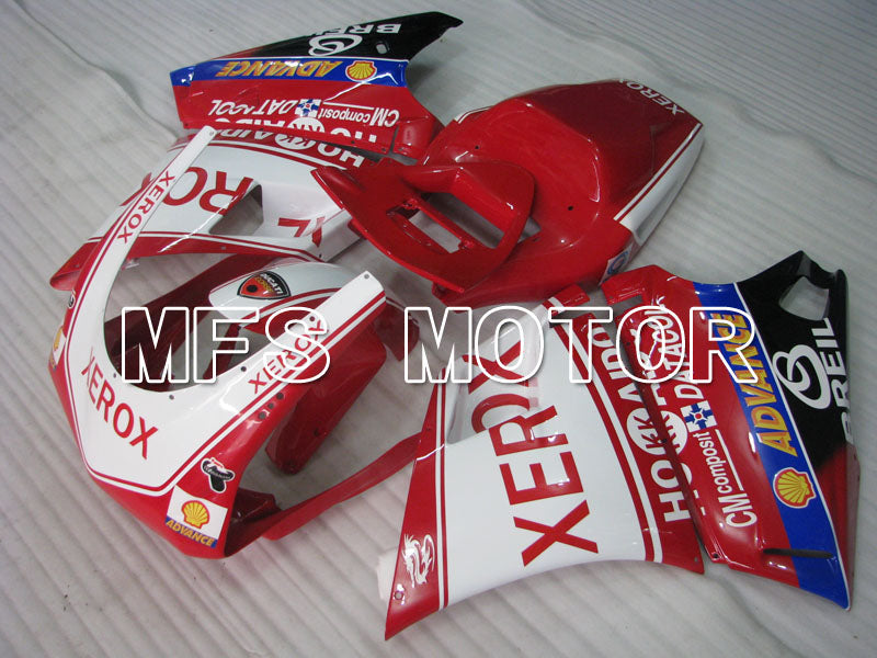 Injection ABS Fairing For Ducati 748 / 998 / 996 1994-2002 - Xerox - Rødhvitt - MFS3987 - shopping og engros